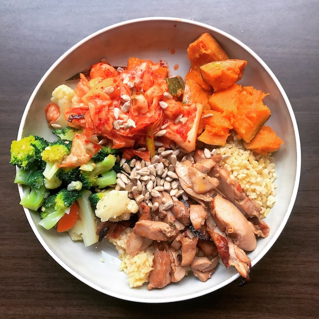 Regular Protein Bowl ($14)