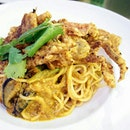 Chilli Crab Pasta.
