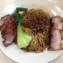 Roast Pork & Char Siew Noodle