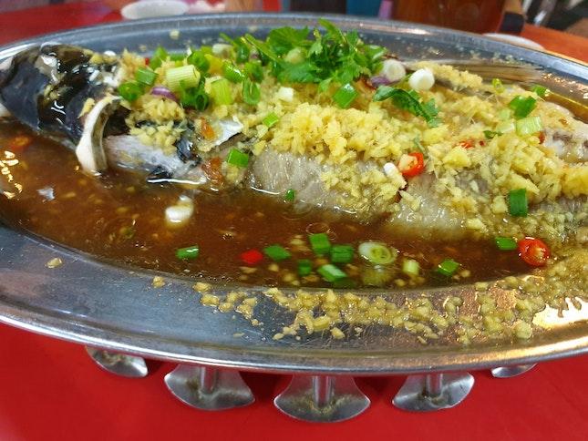 Garlic Steam Fish