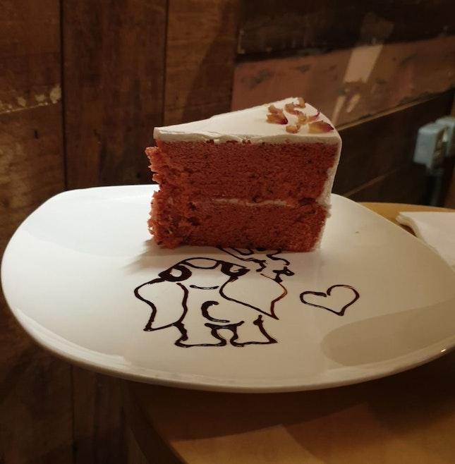 Vanilla Rose Lychee Cake