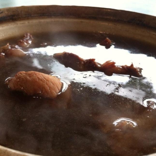 how to make pork leon soup
