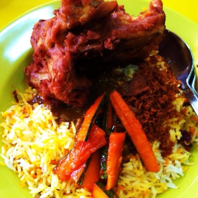 060612 ~ Fried Chicken Briyani
