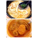 Katong Laksa & Curry Chicken~ 😜👍