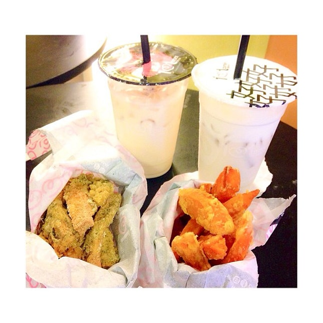 #sogood  Satisfying our craving for goguma~~ 😍👍👍 @wennydw