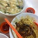 Fish Maw Soup Bak Chor Mee ($8)