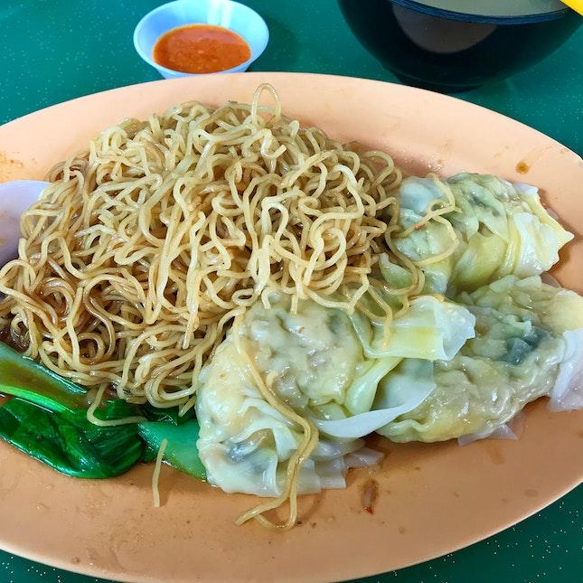 Shrimp Dumpling Noodles ($3.80)