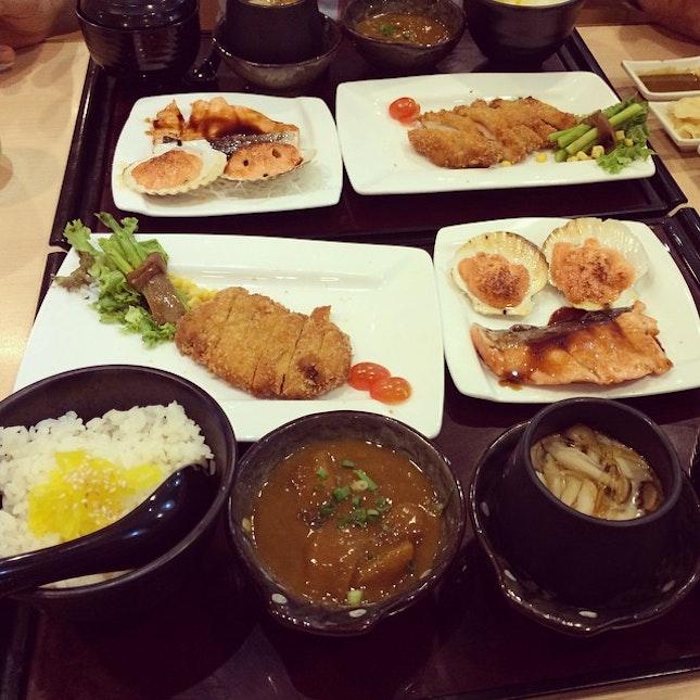 #satisfied #lunch #Japanese #food #saturday #jb #sakae