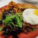 Hawaiin Chicken Burger