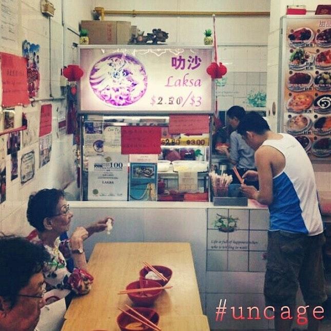 #uncage your appetite at 928 Yishun Laksa.