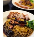 [Char Siew + Sio Bak with noodles from @kl_shao_roast] .