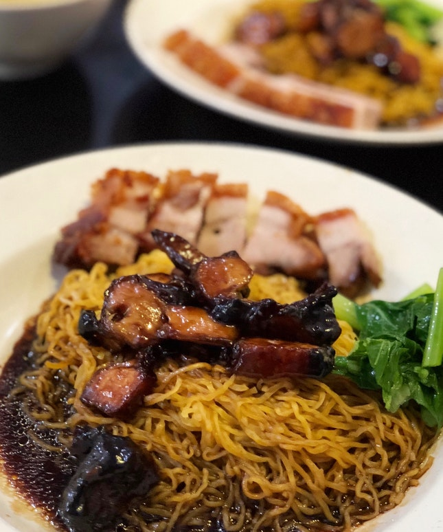 Char Siew & Sio Bak with Noodles
