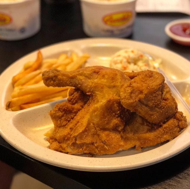 Half Spring Chicken Meal