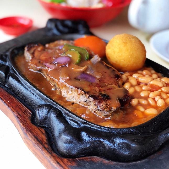 Black Pepper Sirloin Steak ($13)