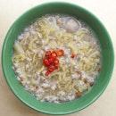 Minced Meat Noodles Soup ($4)