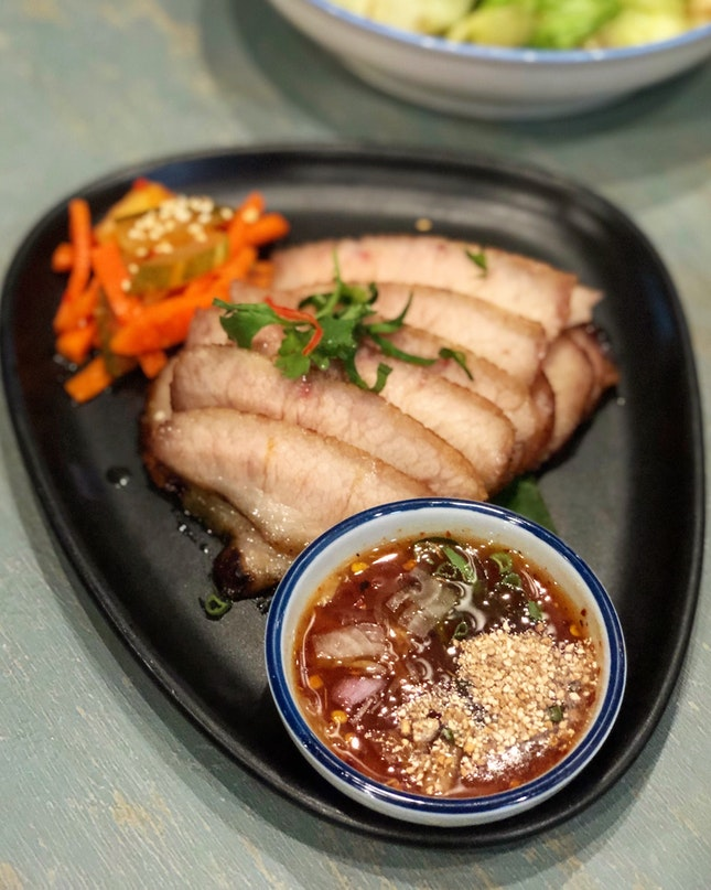 Chef Joel's BBQ Pork Cheek ($14.80)