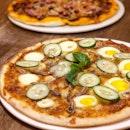 Lemak No Nasi Pizza ($24)