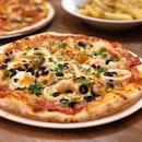 Under the Sea Pizza ($29)