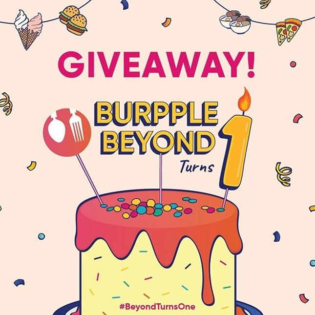 🎉𝐆𝐈𝐕𝐄𝐀𝐖𝐀𝐘!🎉 • Over the past year, i've really enjoyed using @burpple Beyond for its 1-for-1 deals (scroll left for some of my recent redemptions) and here is a chance for you to win a free All Day (Annual) Burpple Beyond Plan Gift Code (worth $69) in celebration of #beyondturnsone.