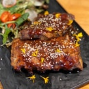 BBQ Pork Ribs Slab ($22)