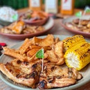 Boneless Thighs PERi-PERi Chicken w/ 2 Regular Sides ($15.90)