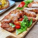 Har Cheong Gai Chicken Cutlet ($10)