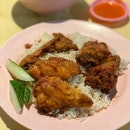 Fried Chicken Wing Rice ($3.30)