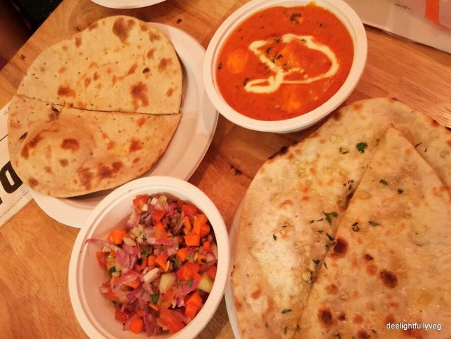 Paneer Makhani With Tandoor Rotis