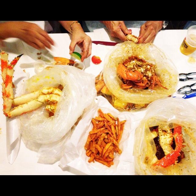 BEST Cajun-style Crabs Ever