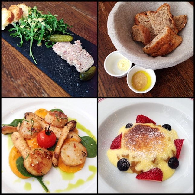 Good Value French Cuisine  ($33++ and $28++ for 3 and 2 courses respectively)