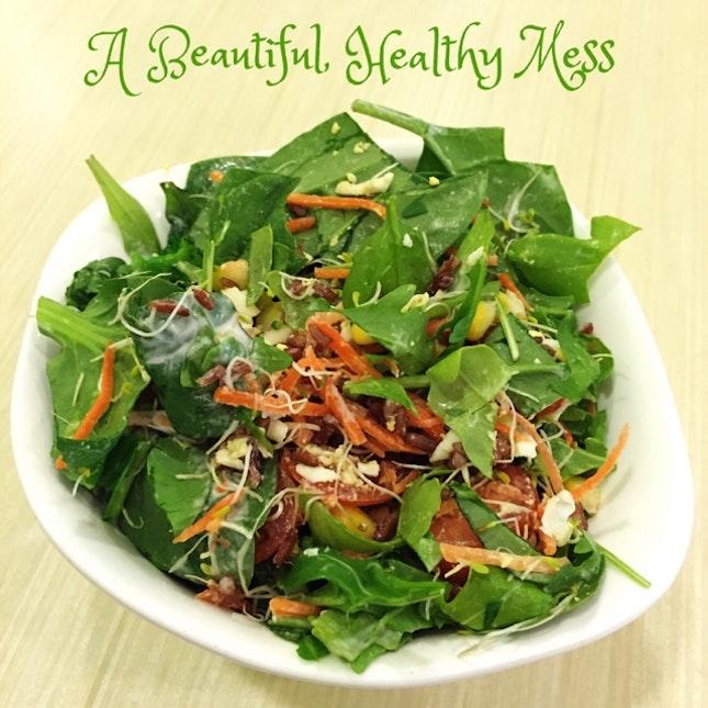 Quick Vegetarian Lunch