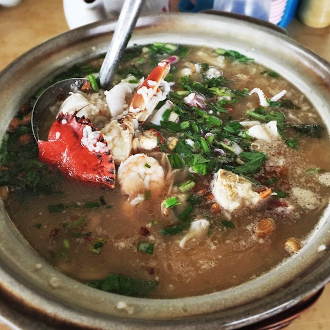 Seafood Porridge (about RM90 for a 3 pax portion)