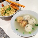 Teochew Meatball Noodles ($5 / $6 with Lime Juice)