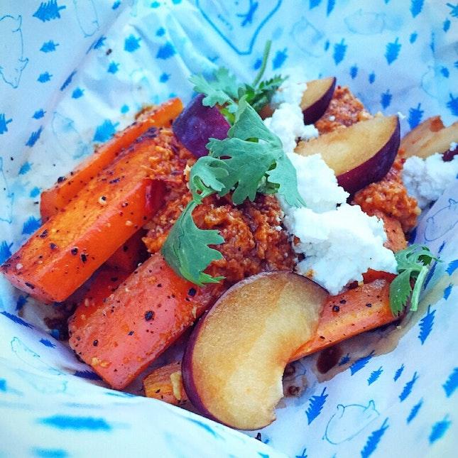 Burnt Carrots ($14)