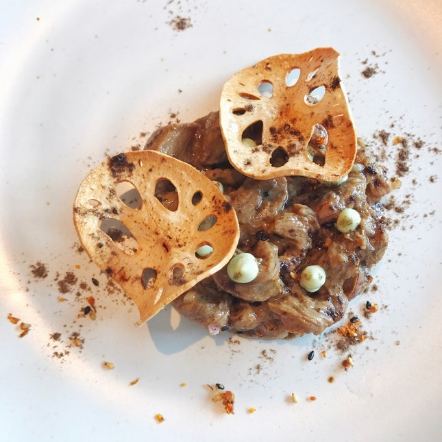 Tenderloin Tartare - Part Of The $25++ 4-course Tasting Menu For Lunch