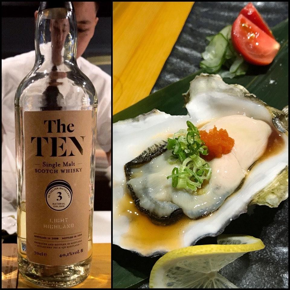 Omakase Sushi Pairing with Whisky ($68++ / $98++ / $128++)