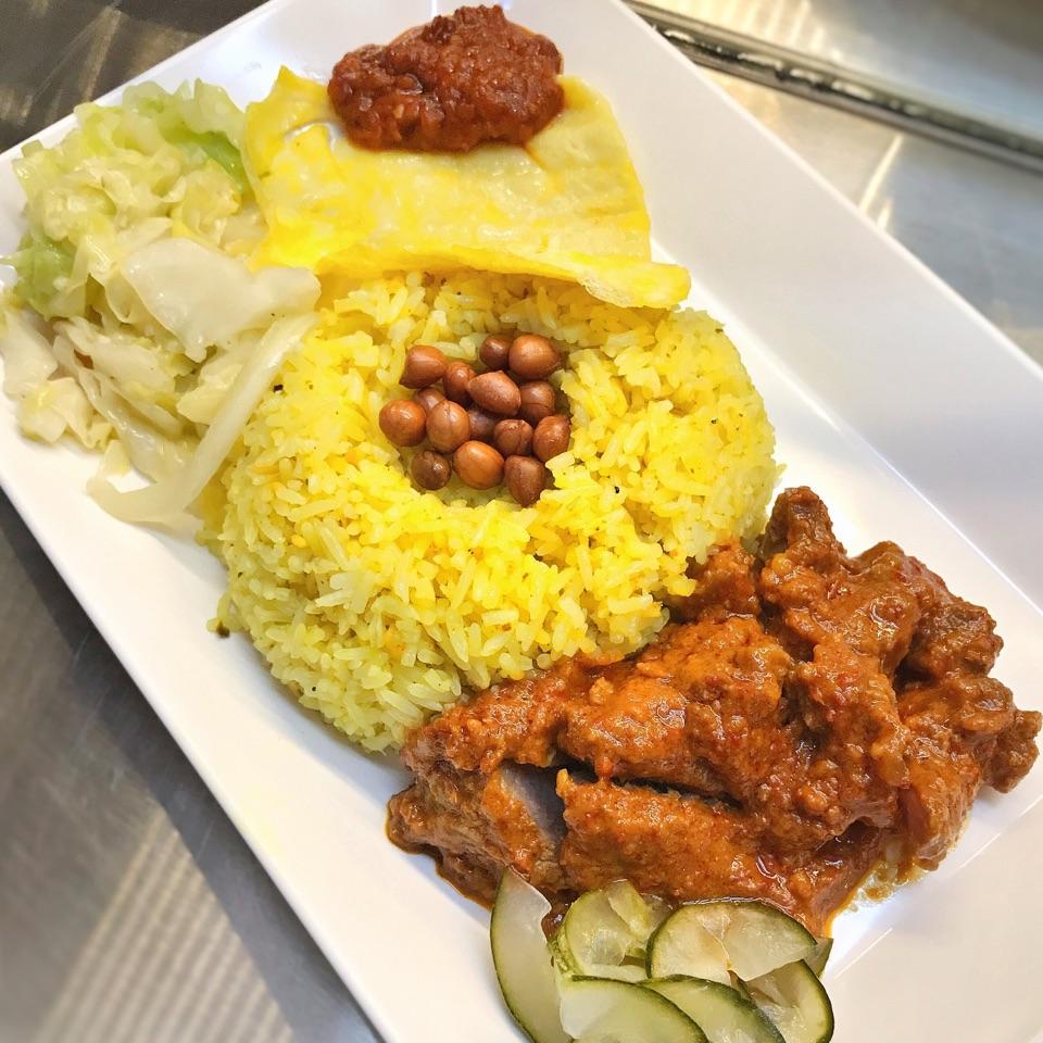 "Nasi Kuning from ""Kemiri By Aroma Indah"" ($6)"