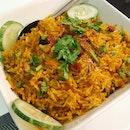 Chicken Perattu Rice ($16.80++)