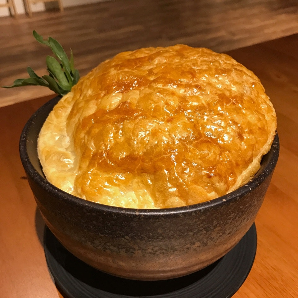 Ground Beef Rendang with Puff Pastry ($24++)