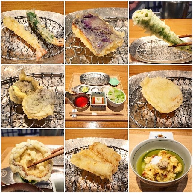Tempura Lunch Set ($70++ / $85++ / $100++)