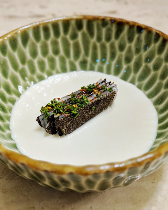 """My Favourite Dish From The 6-Hands Pop-Up By Chef Ivan Brehm And The Two Chefs Of Stockholm's """"Adam/Albin"""" (8-course Dinner Menu: $265++)"""
