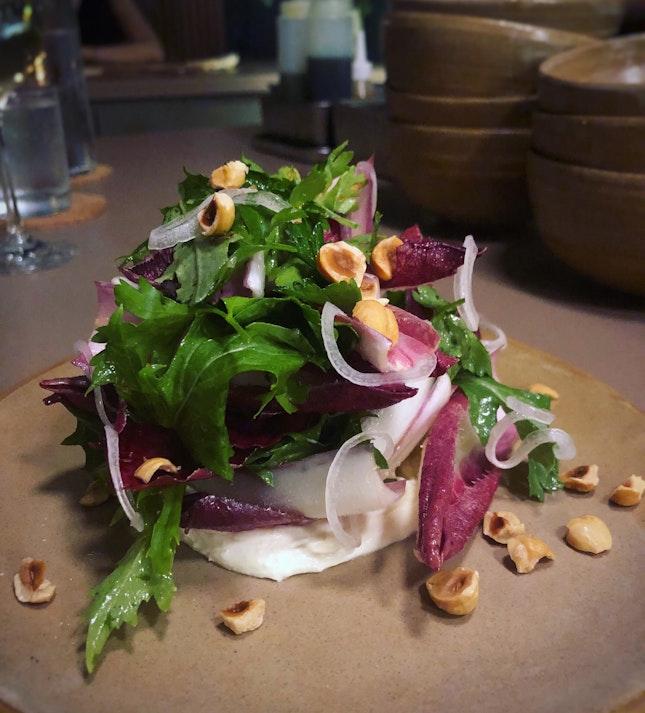 Rose Endive Salad ($18++)