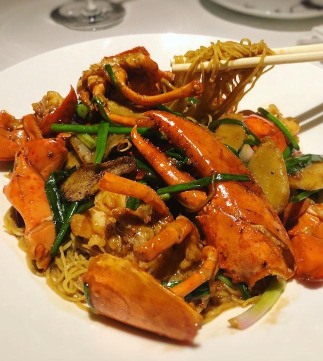 Canadian Lobster Wonton Egg Noodles ($17++ per 100gms)