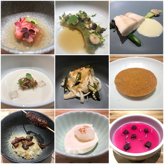 July: Chef Abel Su Takes The Stage (9-course Dinner: $78++)