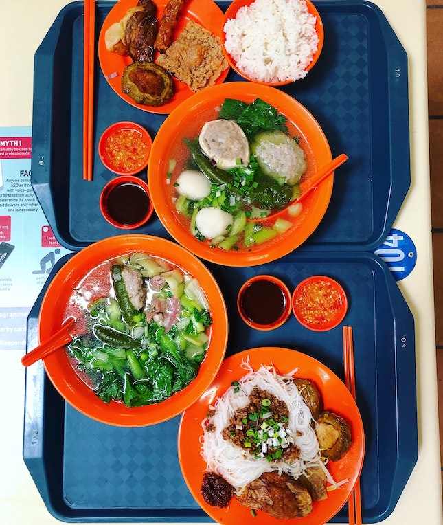 """One Of My Favourite """"Yong Tau Fu"""" Stalls In Singapore"""