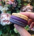 "CNY 2019 Special Macaron: The ""Purplette"" ($3 per piece; $19 for 6)"