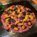 A5 Nagasaki Wagyu Carpaccio (Price: $48++)