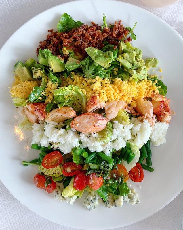 Maine Lobster Cobb Salad ($44++)