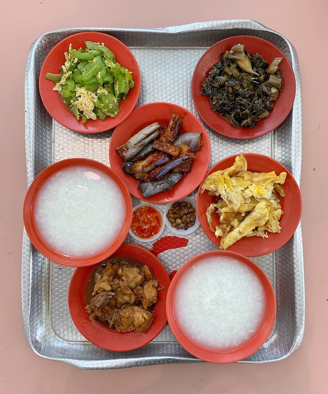 """Teochew Muay"" or Teochew Porridge is the OG of ""detox"" for me."