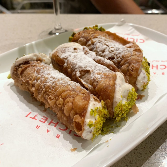 Don't Miss Out On The Cannoli